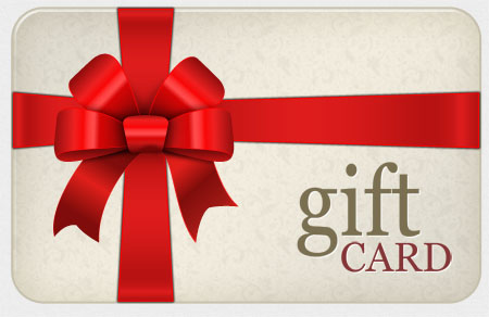Yay! It's the Annual Black Friday Gift Certificate Sale