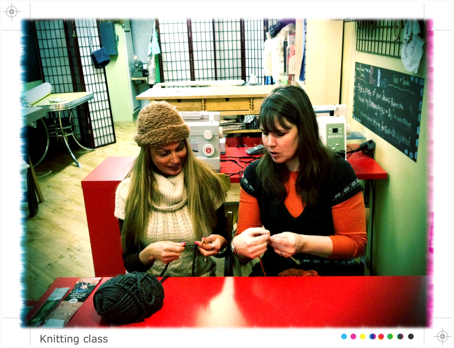 Private & Duet Knitting Lessons - M Avery Designs Sewing Studio